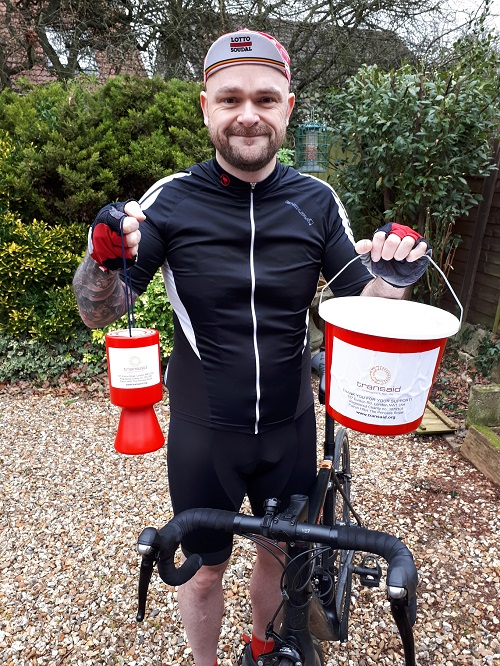 Frampton Cotterell cyclist riding for Africa