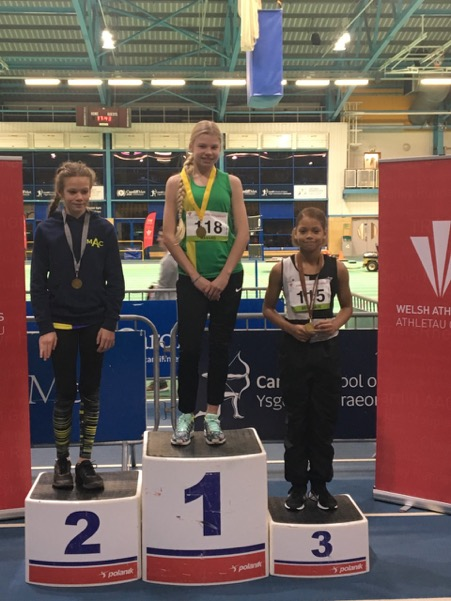 Indoor championships success for Yate & District young athletes