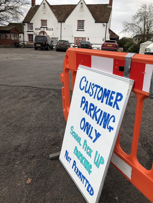 School run parents cause Coalpit Heath pub parking headache