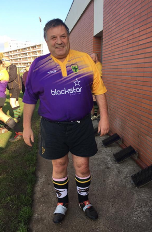 Zaff reaches his 800th game for Frampton Cotterell Rugby Club