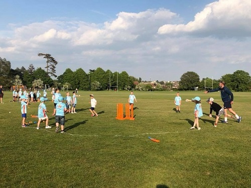 Kids invited to get into cricket