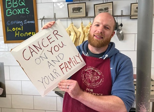 Hate messages left for Frampton Cotterell butcher