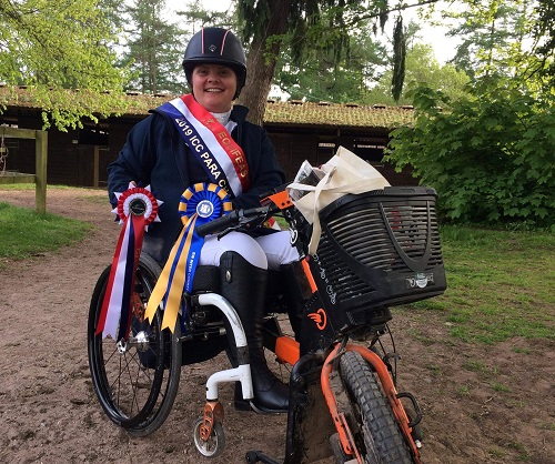 Sallyanne wins on horseback again after life-changing accident left her paralysed