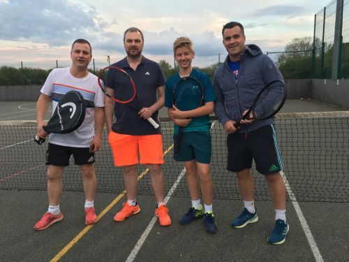 Winterbourne Tennis Club off to a winning start