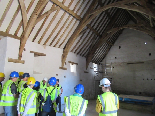 A look at Winterbourne Medieval Barn's transformation