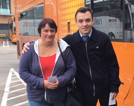 Bus driver is a hero, says passenger who collapsed on service in Coalpit Heath