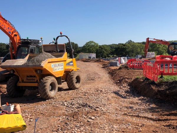 Builders move in on Coalpit Heath farm after planning fight