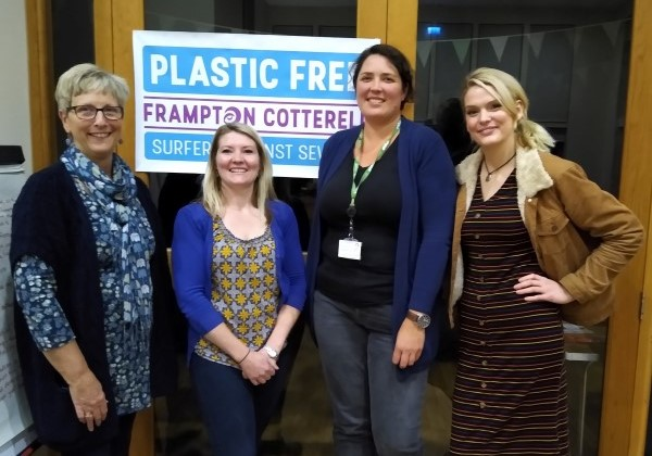 Frampton Cotterell joins the war on plastic