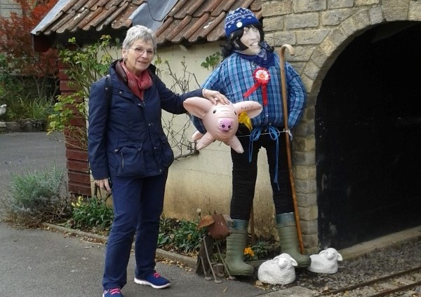 Winners of Frampton Cotterell and Coalpit Heath scarecrow trail