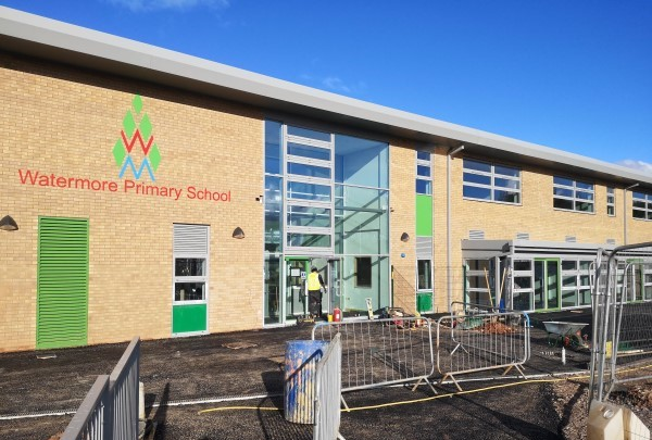Out with the old as Watermore Primary School goes into the new building
