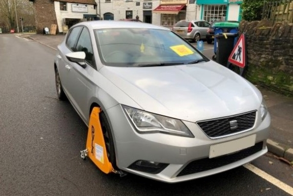 Cars clamped in DVLA tax crackdown