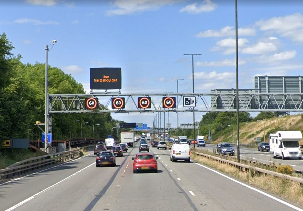 Driving on hard shoulder of M4 'smart motorway' section near Hambrook to be banned