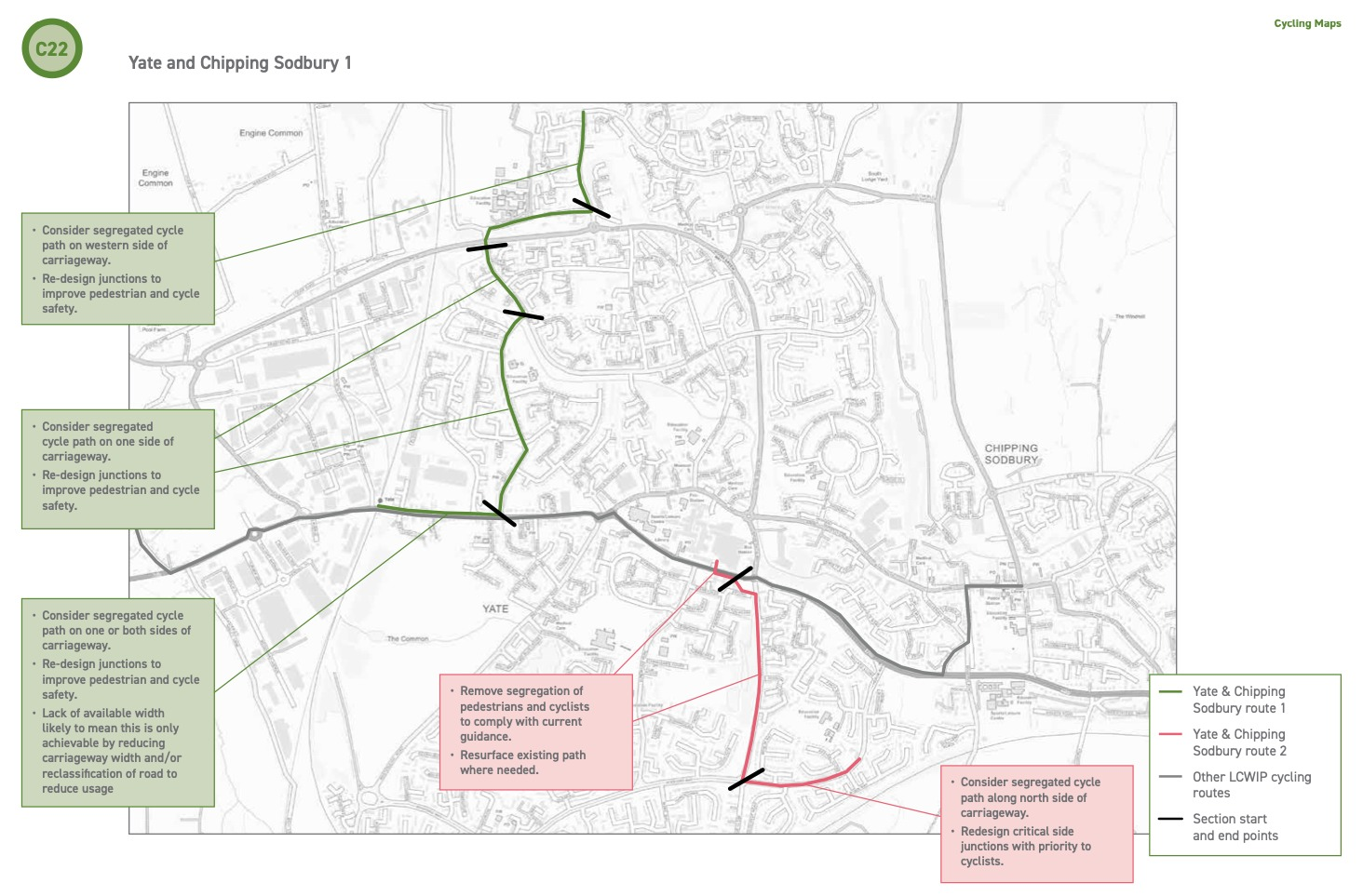 Have your say on new cycling and walking route improvements
