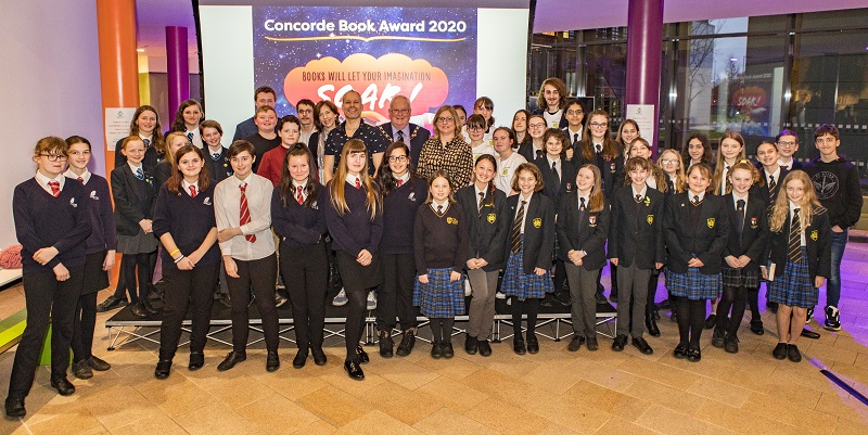 Winterbourne pupils help choose book of the year