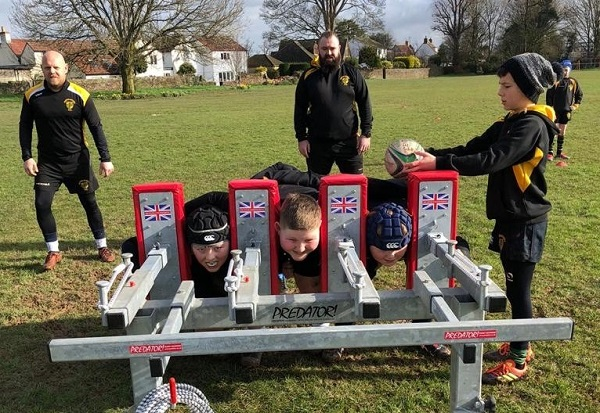 Sled helps Frampton Cotterell rugby kids push on to next level