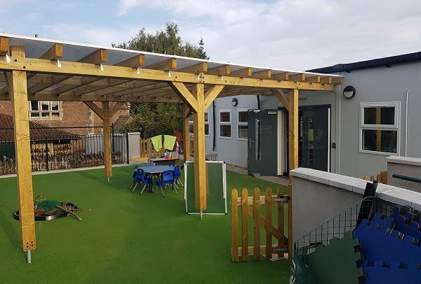 New classrooms provide welcoming environment after £500,000 investment at Iron Acton Primary School