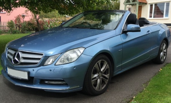 The sweet spot: 2012 Mercedes E Class convertible A207