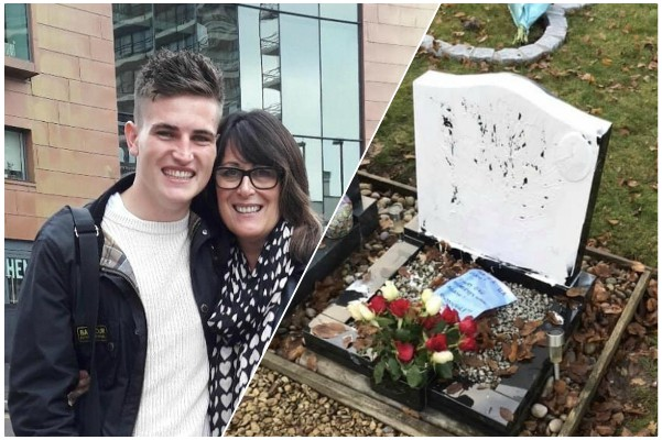 Family wants to find out who vandalised 22-year-old son's grave