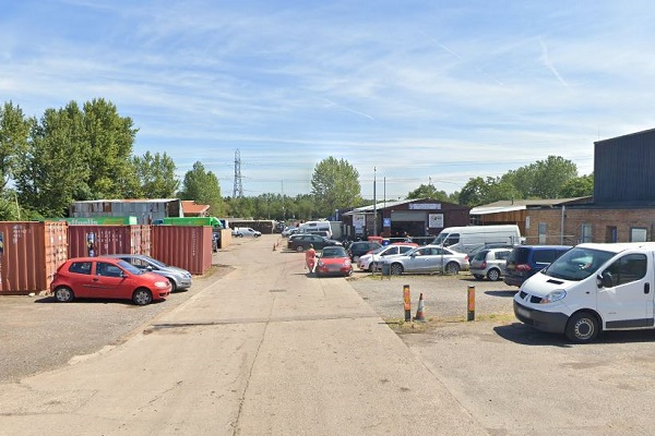 Man needs hospital treatment after being punched in face at industrial estate