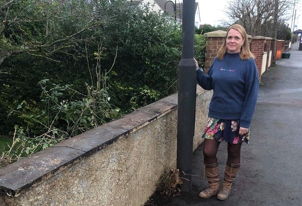 'Worst garden' award takes pride of place - in downstairs loo