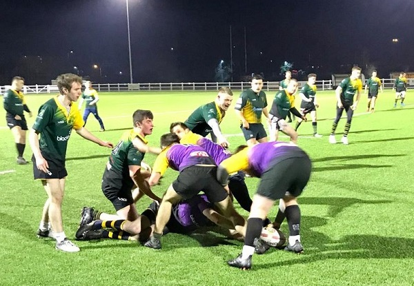 Trial match for Frampton Cotterell RFC before lockdown