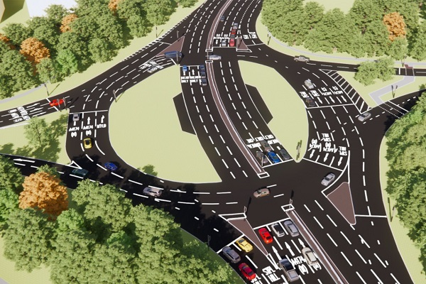 Five roundabouts on Avon Ring Road to be transformed in three-year roadworks project