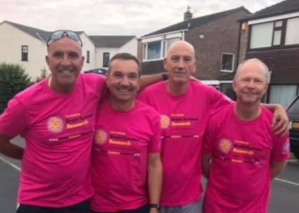 Winterbourne friends raise £12,000 with walk to Lord's
