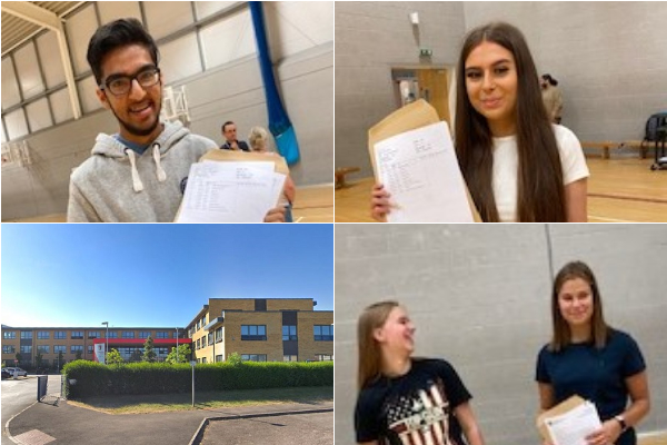 Hard work through pandemic pays off in GCSEs for Winterbourne Academy pupils