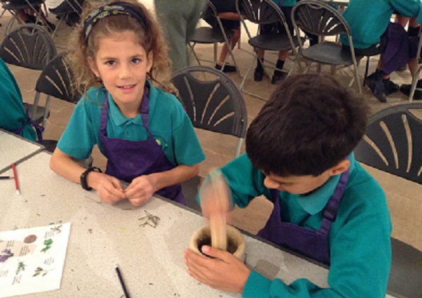School's day out at Winterbourne Medieval Barn