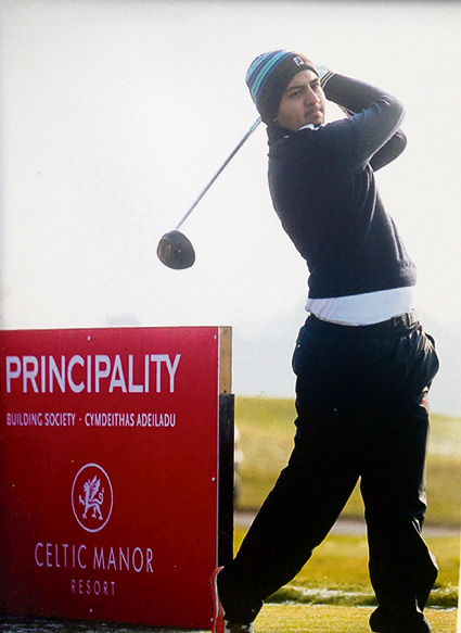 Kendleshire golfer takes on the world
