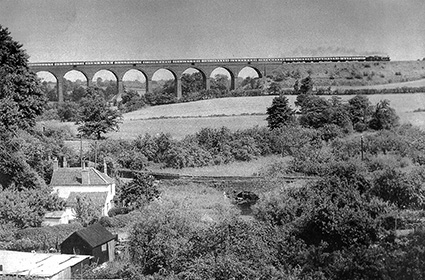 A train line runs through it: the railway viaducts that are at the heart of the Frome Valley