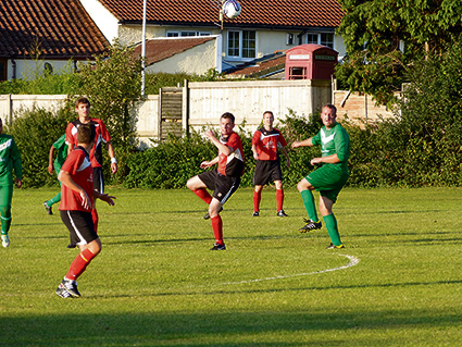 Frampton Athletic top table after unbeaten September