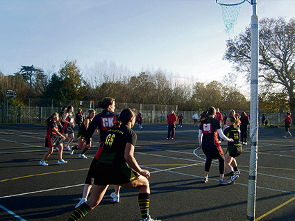 Weather disrupts netballers